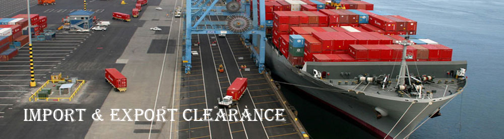 RP Logistics service : Import Clearance