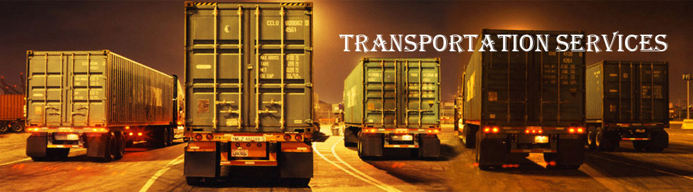 RP Logistics banner : Transportation Services